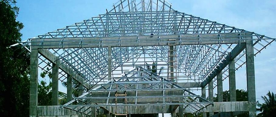 Steel Roof Trusses Www Pixshark Com Images Galleries